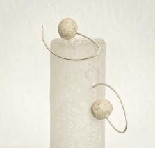 Balls earrings: R 590.00 (approx. EURO 40.00)