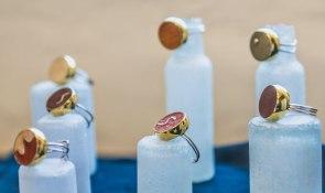 Rings R 690.00 each (approx. EURO 47.00)